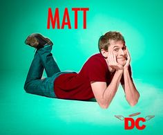 """Matt from studio C. Love him the most in the trip to the ERskit. """"This is my Arm!!! Notice how  it's an entire arms length away from my body!!!"""""""