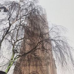 Derby Cathedral peeking through the fog. The NeoClassical All Saints Church was completed in 1725.  This tower dates back to the 16th century & has the oldest ring of ten bells in the world. In 1927 it became Derby Cathedral. #derbycathedral #derby #church #instatravel #photosofengland #UK #lovegreatbritain #visitengland