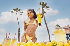 Are you ready to have a glass of Lemonade?! It's released on our site on 7.19.21 💛🍋⭐️🐝✨ Beach Ready, Body Mist, Face And Body, Collagen, Lemonade, Mists, Bikinis, Swimwear, Summertime