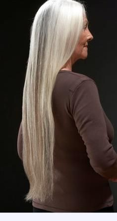 Doing this when my hair goes gray.