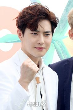 Suho - 170718 Fourth Regular Album 'The War' comeback press conference Credit: Segye. (정규 4집 '더워' 컴백 기자회견) EXO EXO K Suho 170718 exo im exo k im suho im 170718 press conference p:news fs:segye