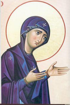 Arhimandritul Zenon – icoana Madonna, Orthodox Icons, Photo, Illustration, Painting, Byzantine Mosaic, Oil Painting, Art, Maria