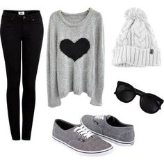 Leggings beanie warm sweater