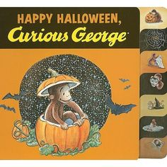 Curious George Happy Halloween Book from PBS Kids Shop