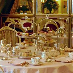 seasonsofwinterberry:  From imgfave.com High Tea at The Ritz, London