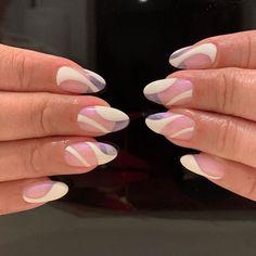 Best Acrylic Nails, Acrylic Nail Designs, Nail Polish Designs, Nails Design, Stylish Nails, Trendy Nails, Nagellack Design, Funky Nails, Funky Nail Art