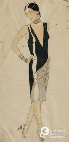 Milena Pavlović Barilli, 1928. Collection Museum of Applied Art Belgrade. All rights reserved.