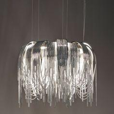 Terzani Volver Round LED Suspension Light by Design Studio 14, Fringe, Lighting, Lighting Design, Interior Design, h-a-l-e.com