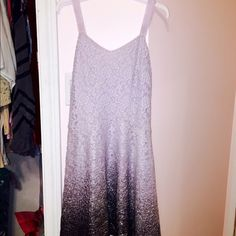 Ombré sparkle free people sleeveless dress Perfect condition, worn once. Fits like a small/medium. Rare, sold out everywhere Free People Dresses