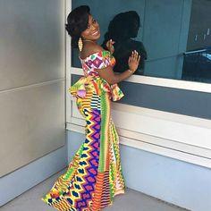 beautiful african fashion kente dress designs