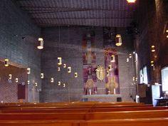 S. Lewerentz, St. Mark's, Bjorkhagen, 1956 | Flickr - Photo Sharing!