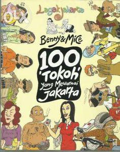 """100 Tokoh yang Mewarnai Jakarta"" Benny & Mice #buku #sewabuku #perpustakaan"
