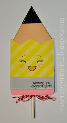 Tx Scrapper Mom - Kawaii School Lollipop Covers