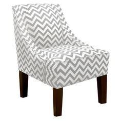 Skyline Furniture Zig Zag Swoop Arm Chair & Reviews | Wayfair