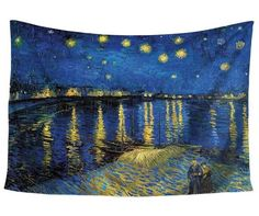 Starry night tapestry - dorm room tapestries