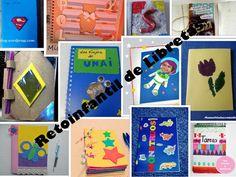 12 Libretas infantiles ¿Las hacemos o las decoramos? Diy, Club, Crafty, Activities, Infant Crafts, Monsters, Beautiful Things, The Creation, Tutorials