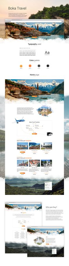 Ознакомьтесь с моим проектом @Behance: «Boka Travel - Website» https://www.behance.net/gallery/51992643/Boka-Travel-Website