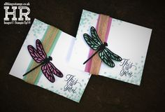 All Things Stampy: Mix It Up Monday: Dragonfly Dreams gift pouch