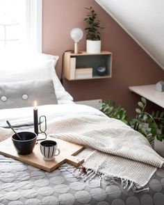 Design Studios, Modern Bedroom Design, Home Fashion, Dream Decor, Wall Colors, Floating Nightstand, Master Suite, Feng Shui, Interior Inspiration