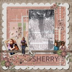 52 Years by smikeel. Kit: Gentle Comfort by Meryl Bartho http://scrapbird.com/designers-c-73/k-m-c-73_516/meryl-bartho-c-73_516_522/gentle-comfort-page-kit-p-17626.html