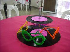 decoração e scrap: Festa Disco