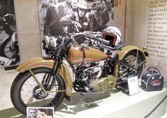 Steve McQueen Harley Davidson
