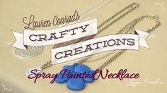 Lauren Conrad's DIY Statement Necklace #CraftyCreations