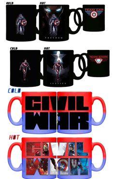 Captain America Civil War Mug Art 3