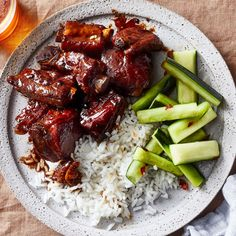 These Sweet & Sticky Chinese Ribs Are Certified Genius - Best Chinese Spare Rib. - These Sweet & Sticky Chinese Ribs Are Certified Genius – Best Chinese Spare Ribs Recipe – How - Chinese Spare Ribs, Chinese Ribs, Chinese Food, Chinese Chicken, Pork Rib Recipes, Asian Recipes, Chinese Recipes, Smoker Recipes, Grilling Recipes