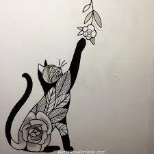 Resultado de imagen para tatoo de gatos en el costado #Cattattoosforcatwomen!