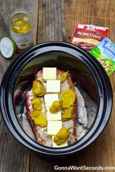 Pot Roast Recipes, Slow Cooker Recipes, Cooking Recipes, Crock Pot Roast Beef, Easy Pot Roast, Chuck Roast In Crockpot, Crockpot Italian Beef, Summer Crock Pot Recipes, Best Crockpot Roast