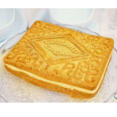 Giant Custard Cream Silicone Cake Mould