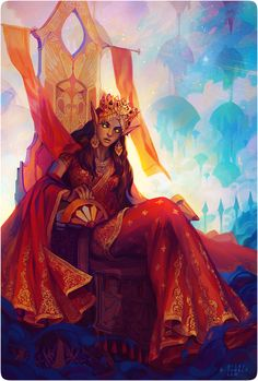 Mulanai Geona, Princess of the forgotten isles, future wife of the sultan race:high elf 38yo
