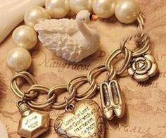 pulsera eslabon con perla
