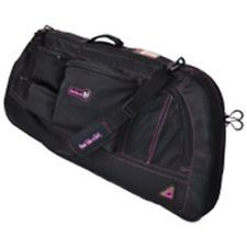 "GamePlan Shoot Like A Girl Bow Case up to 40"" Black/Magenta"