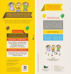 Panfleto Mês das Crianças