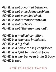 ADHD is a problem problem which is first identified in childhood. It is a mind based trouble which discloses that metabolic procedure in ADHD child's brain is reduced and it influence their interest behaviors social judgment as well as motions. Adhd Odd, Adhd And Autism, Adhd Facts, Adhd Quotes, Autism Quotes, Life Quotes, Adhd Signs, Einstein, Adhd Help