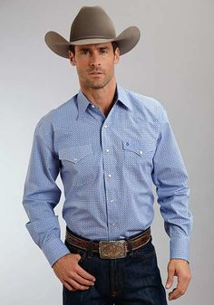 Men's Stetson Snap Shirt 1100104250359