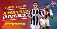 K.O 1.45 Juventus VS Olympiakos live streaming Champions League (UCL) http://ift.tt/2fxrIG2 Juventus Match SerieA UCL