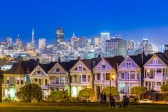 San Francisco Painted Ladies Photograph by DaveGordonPhotos