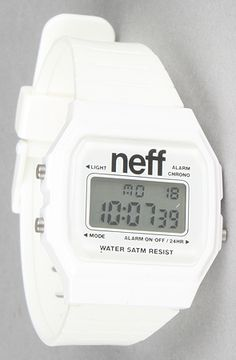 The Flava Watch in White by NEFF