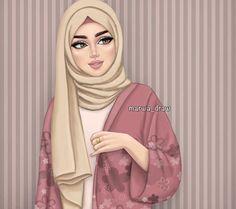 islamic girl cartoon & islamic girl _ islamic girls dpz _ islamic girl photography _ islamic girls name with meaning _ islamic girls dpz hijab fashion _ islamic girls dpz hidden face _ islamic girl cartoon _ islamic girl quotes Girly M, Beautiful Girl Drawing, Cute Girl Drawing, Sarra Art, Hijab Drawing, Hijab Cartoon, Lovely Girl Image, Cute Cartoon Girl, Islamic Girl