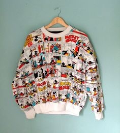80s Vintage Mickey Mouse Sweatshirt