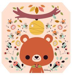 Illustration by Luli Bunny, via Behance