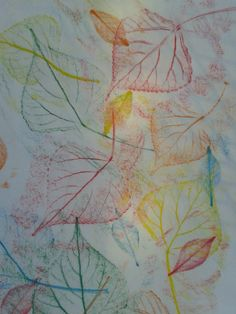 2nd grade art projects fall | September Lesson Leaf Rubbings 2nd Grade | Memmott's Art Ideas