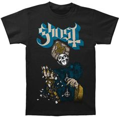 Ghost B.C. Papa Of The World On Fire T-shirt   #ghost # ironmaiden #ironmaidenghosttour #tour #rockabilia #merch #merchandise #licensedmerchandise #bands #rock