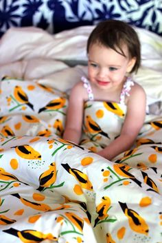 DIY Duvet cover tutorial - all sizes, toddler to king