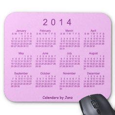 Raspberry Pie 2014 Calendar Mouse Pad Design from Calendars by Janz $12.35