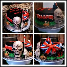 Iron Maiden cake .., way cool.