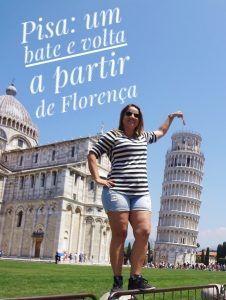 A Torre de Pisa é um dos monumentos mais famosos do mundo, por isso quando estive na Itália, em junho de 2015, não hesitei e fui conferir de perto essa atração. Como Pisa não oferece muitos atrativos, fizemos um bate e volta partindo de Florença de apenas metade de um dia.